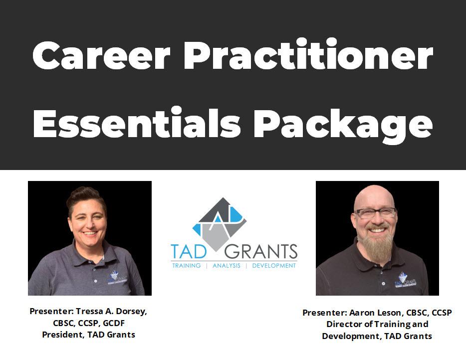 Career Practitioner Essentials Package