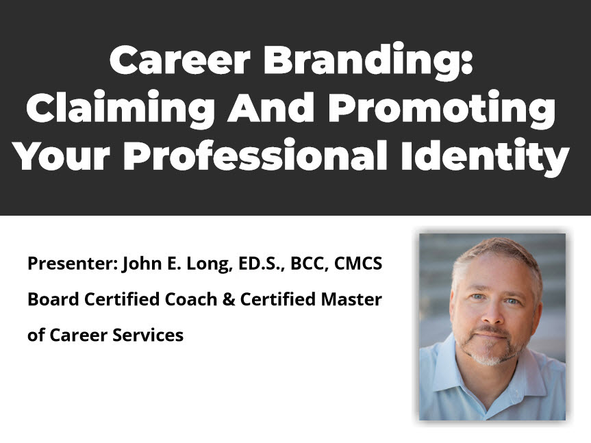 Career Branding – Claiming And Promoting Your Professional Identity