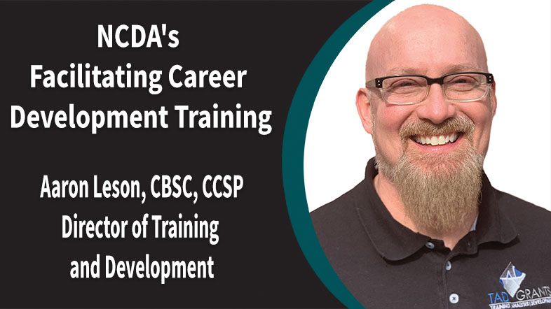 NCDA's Facilitating Career Development Training