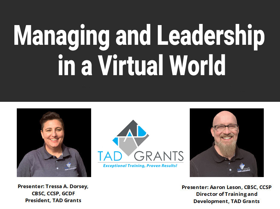 Managing and Leadership in a Virtual World