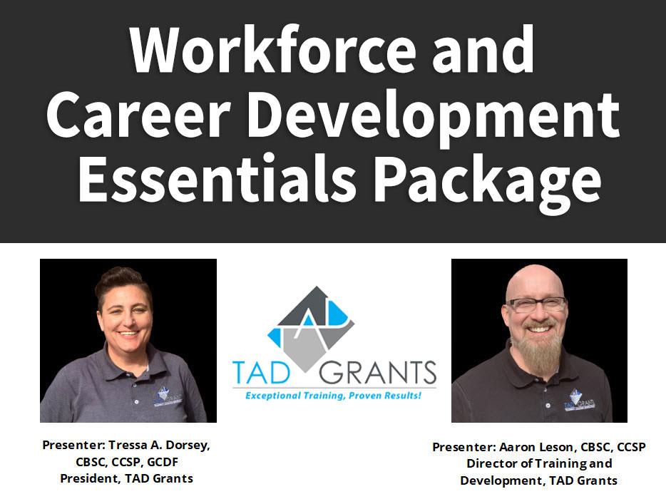 Workforce and Career Development Essentials Package