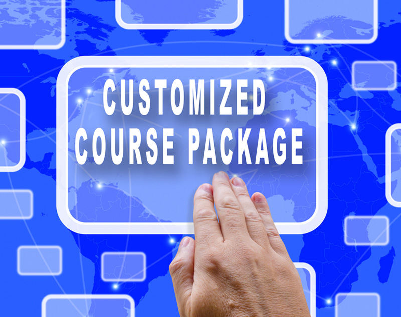 Customized Course Package